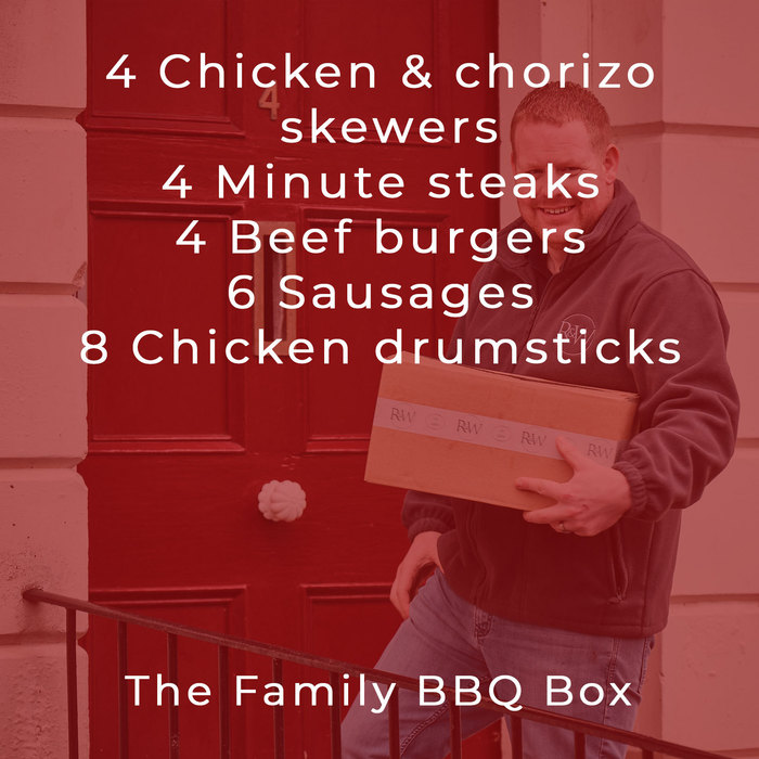 The Family BBQ box from Ruby & White {}