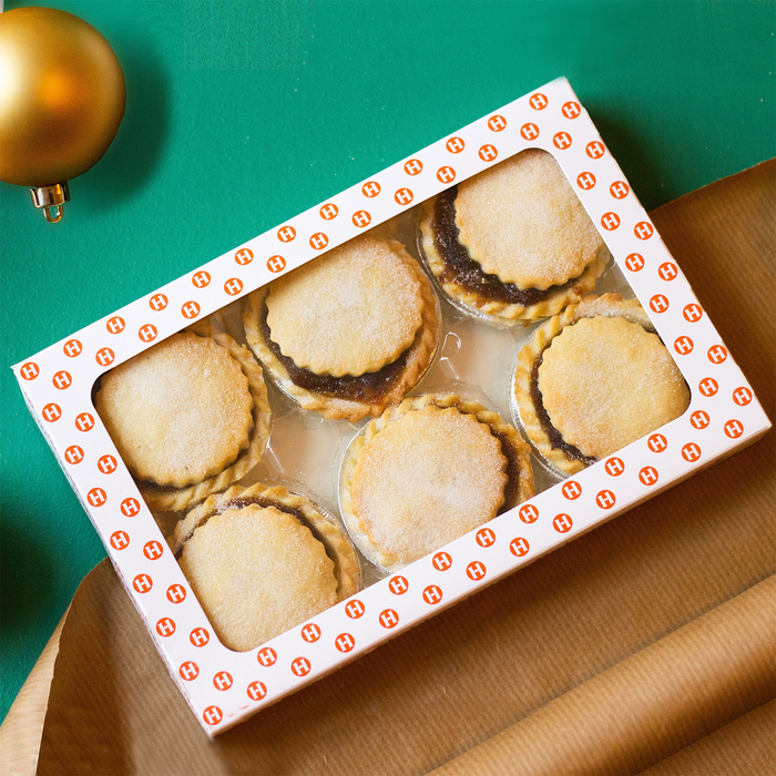 Butter Mince Pies from Ruby & White {}