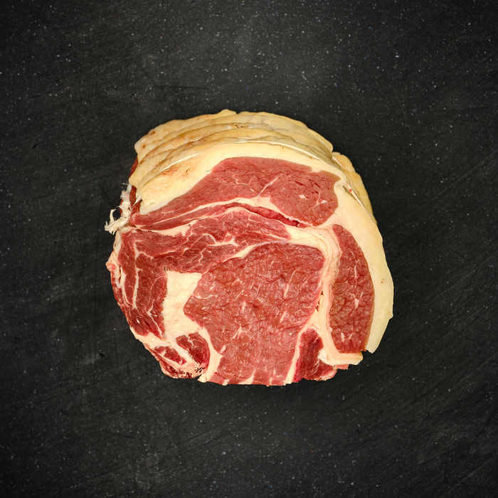 RUBY: Rib of beef, boned & rolled