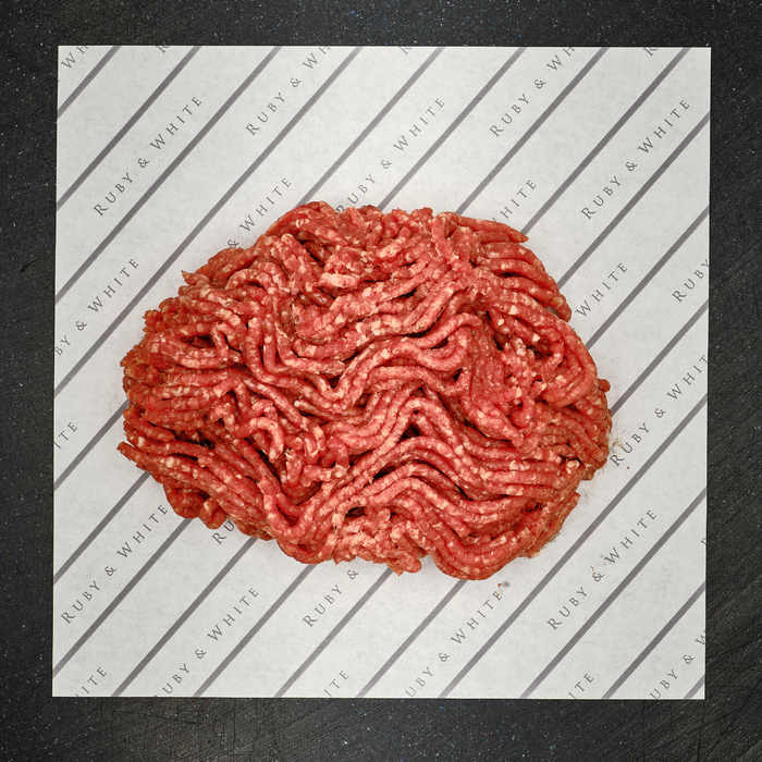 RUBY: Minced beef (steak)